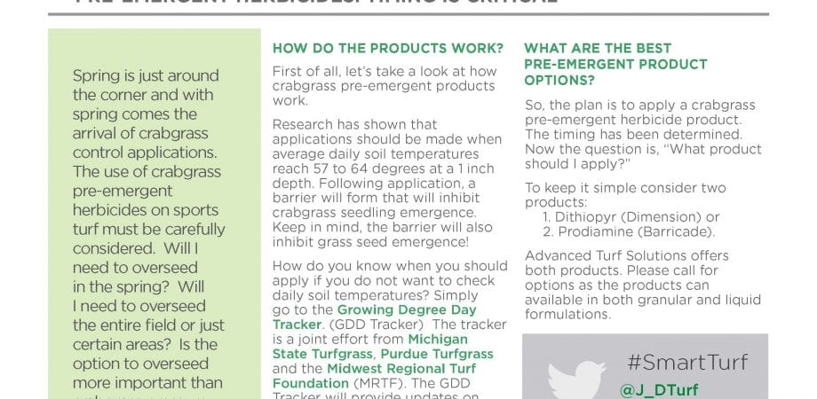 crabgrass preventer is what type of herbicide